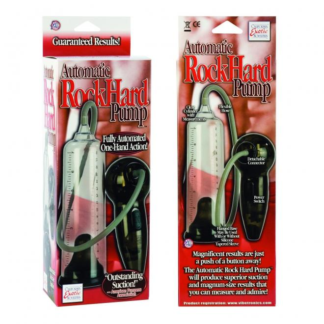 California Exotic Automatic Rock Hard Penis Enlarger Pump Erection Aid. Private